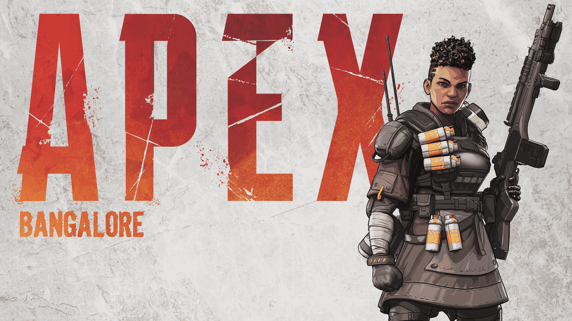 Bangalore, Professional Soldier, Apex Legends