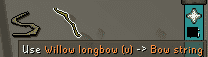 Making Willow Longbows, Old School Runescape