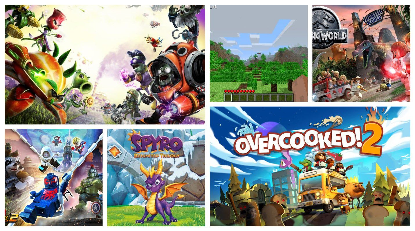 15 Best Family Friendly Xbox One Games For Kids
