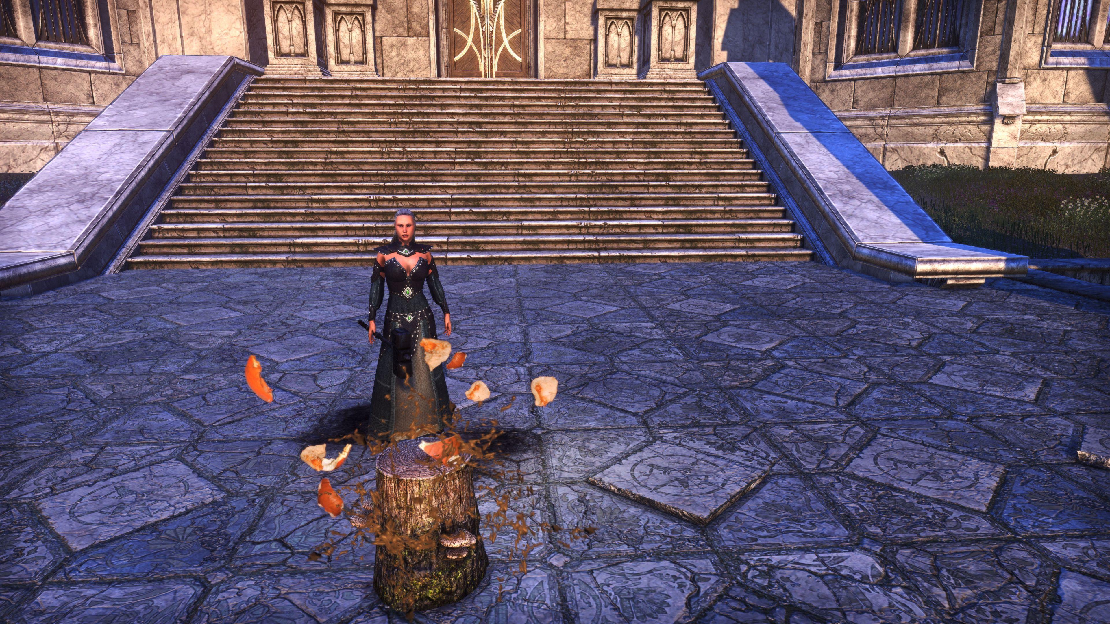 Gourd-Gallows Stump (Memento), Hollowjack Crown Crate, The Elder Scrolls Online