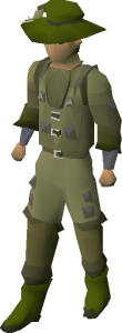 Angler's Outfit, Old School Runescape