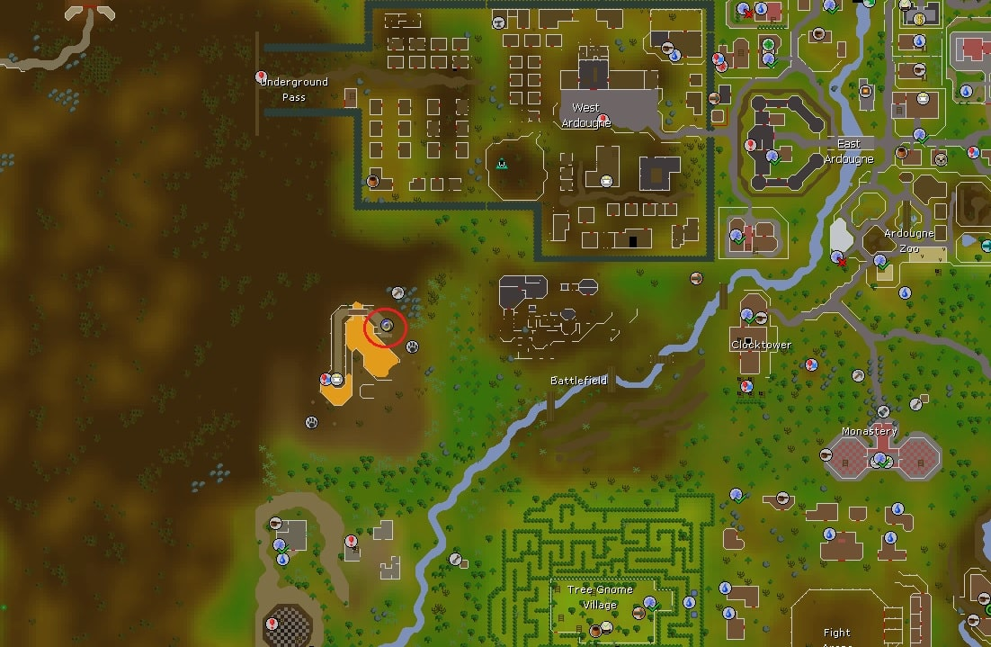 Ourania Altar Location, Old School Runescape