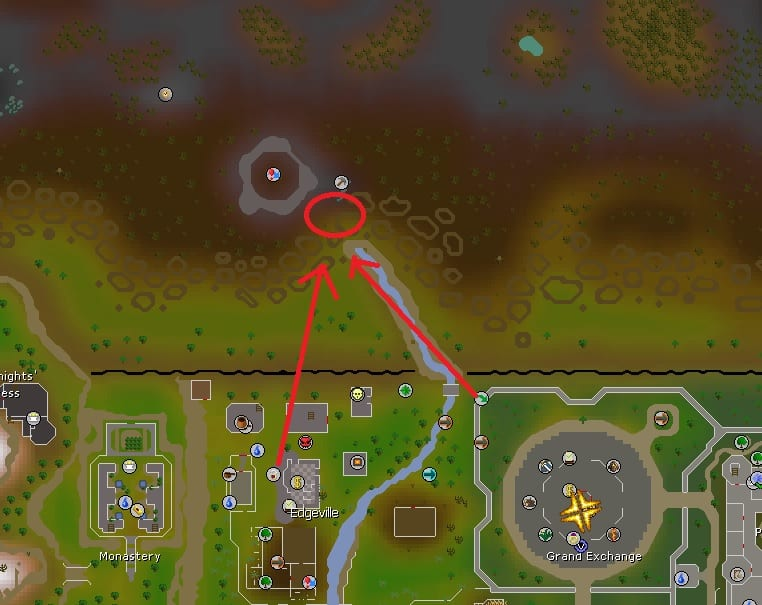 The Abyss Entrance Location, Old School Runescape