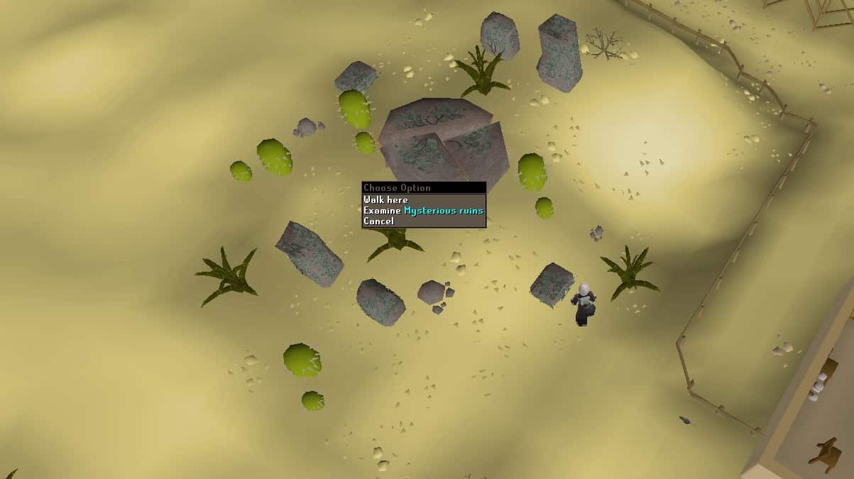 Entering The Mysterious Ruins, Dueling Area, Old School Runescape