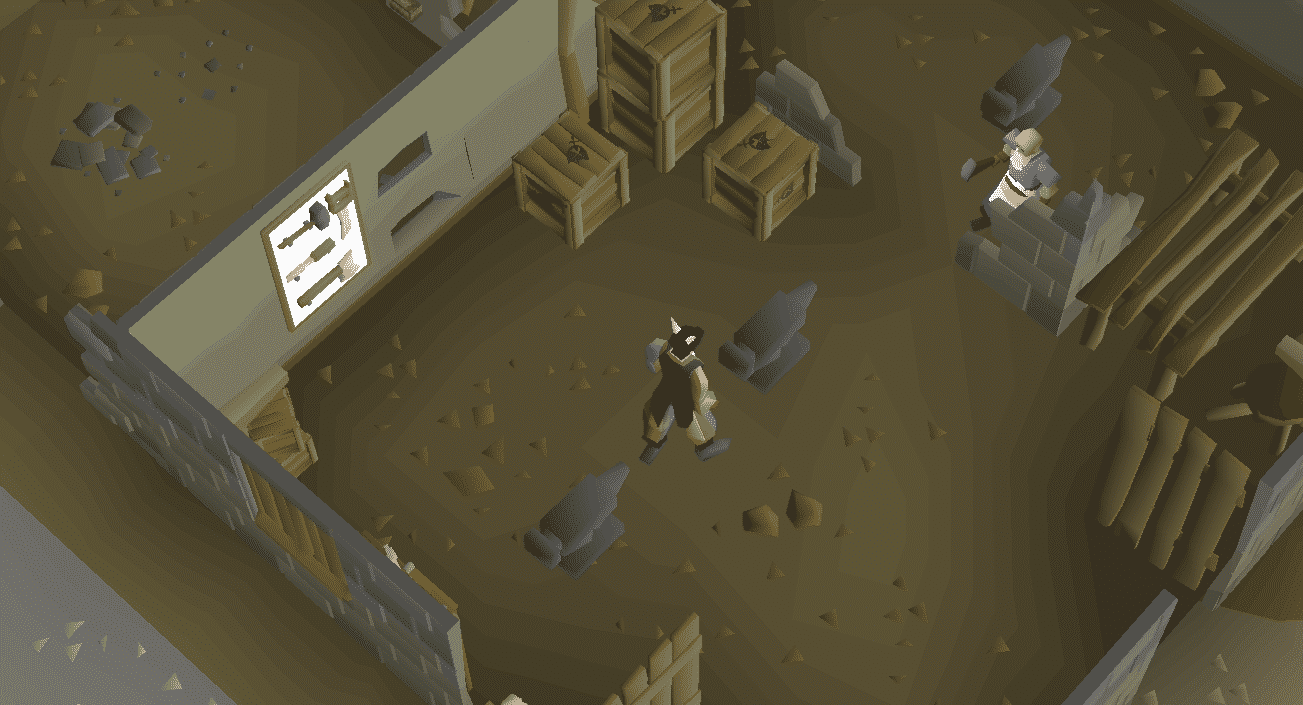 Anvil, Old School Runescape