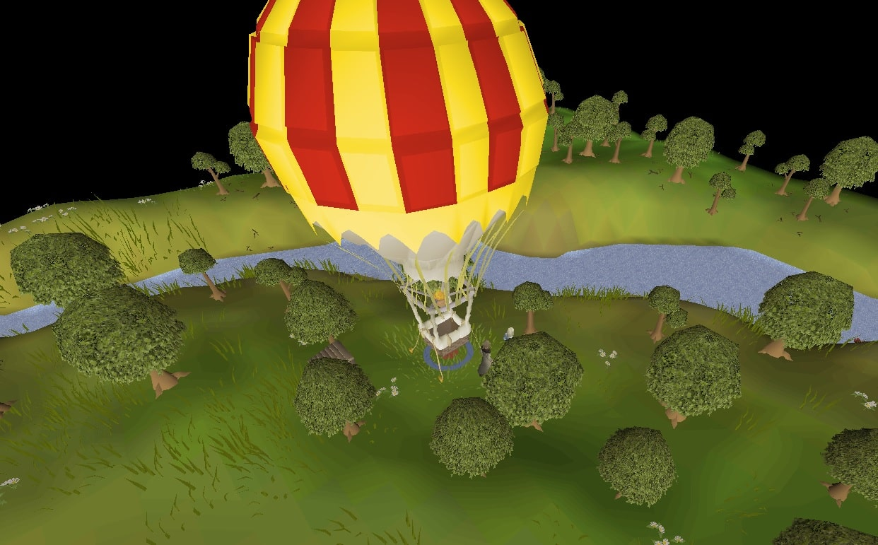 Balloon Transport System, Old School Runescape