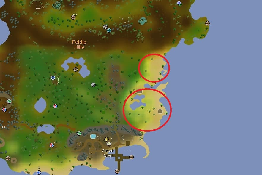 Crimson Swift Hunting Spots, Old School Runescape
