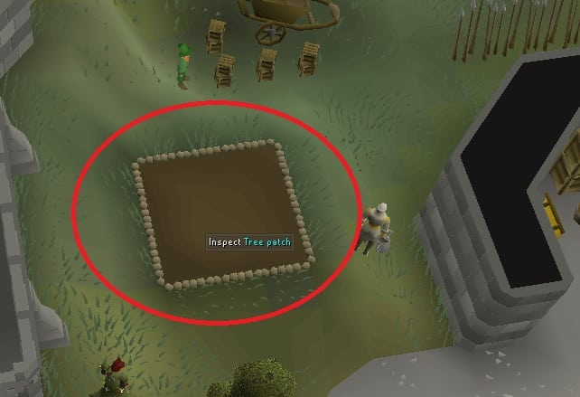 Farming Patch, Old School Runescape
