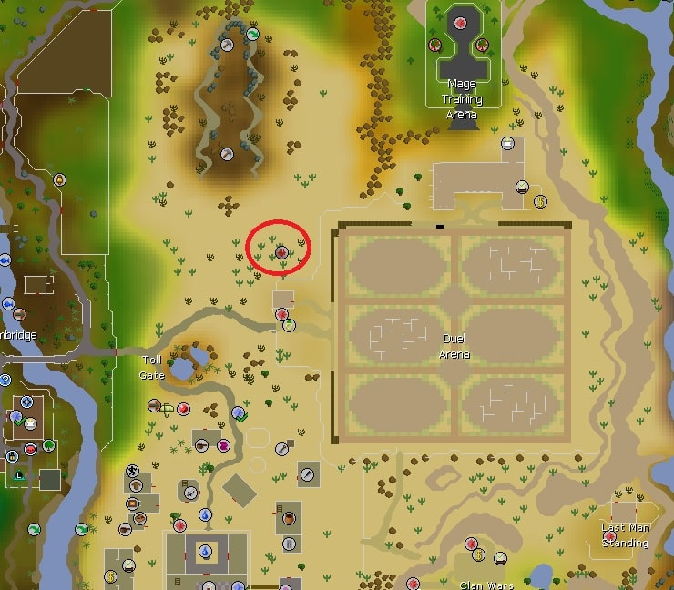 Fire & Lava Altar Location, Old School Runescape