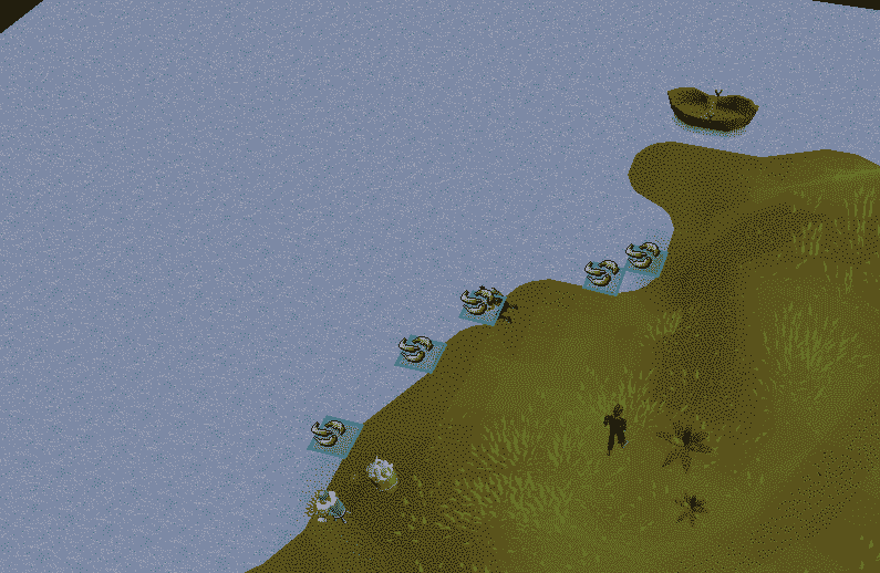 Fishing Spots, Old School Runescape