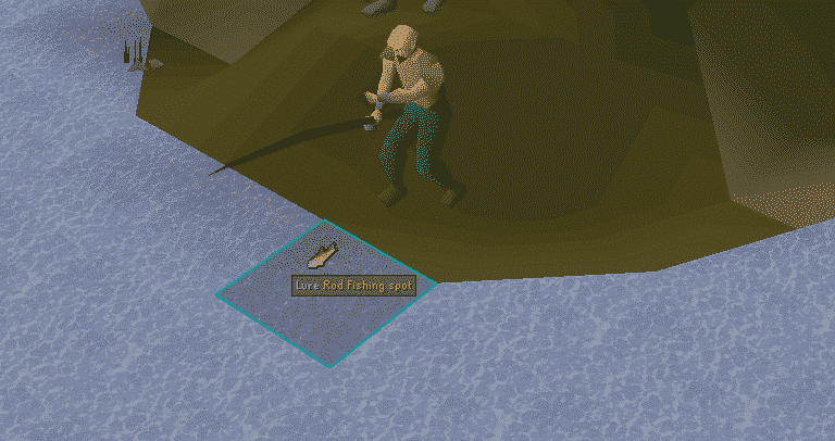 Fly Fishing, Old School Runescape