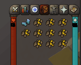 Gold Bars Smithing Inventory, Old School Runescape