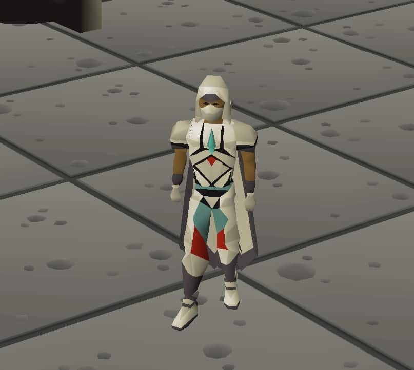 Full Graceful Outfit Equipped, Old School Runescape