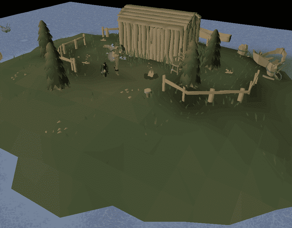 Lake Molch Island, Old School Runescape