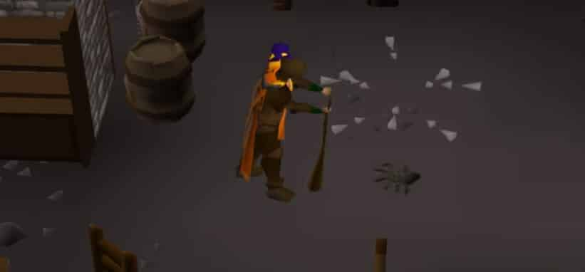 Splashing Fire Strikes, Old School Runescape