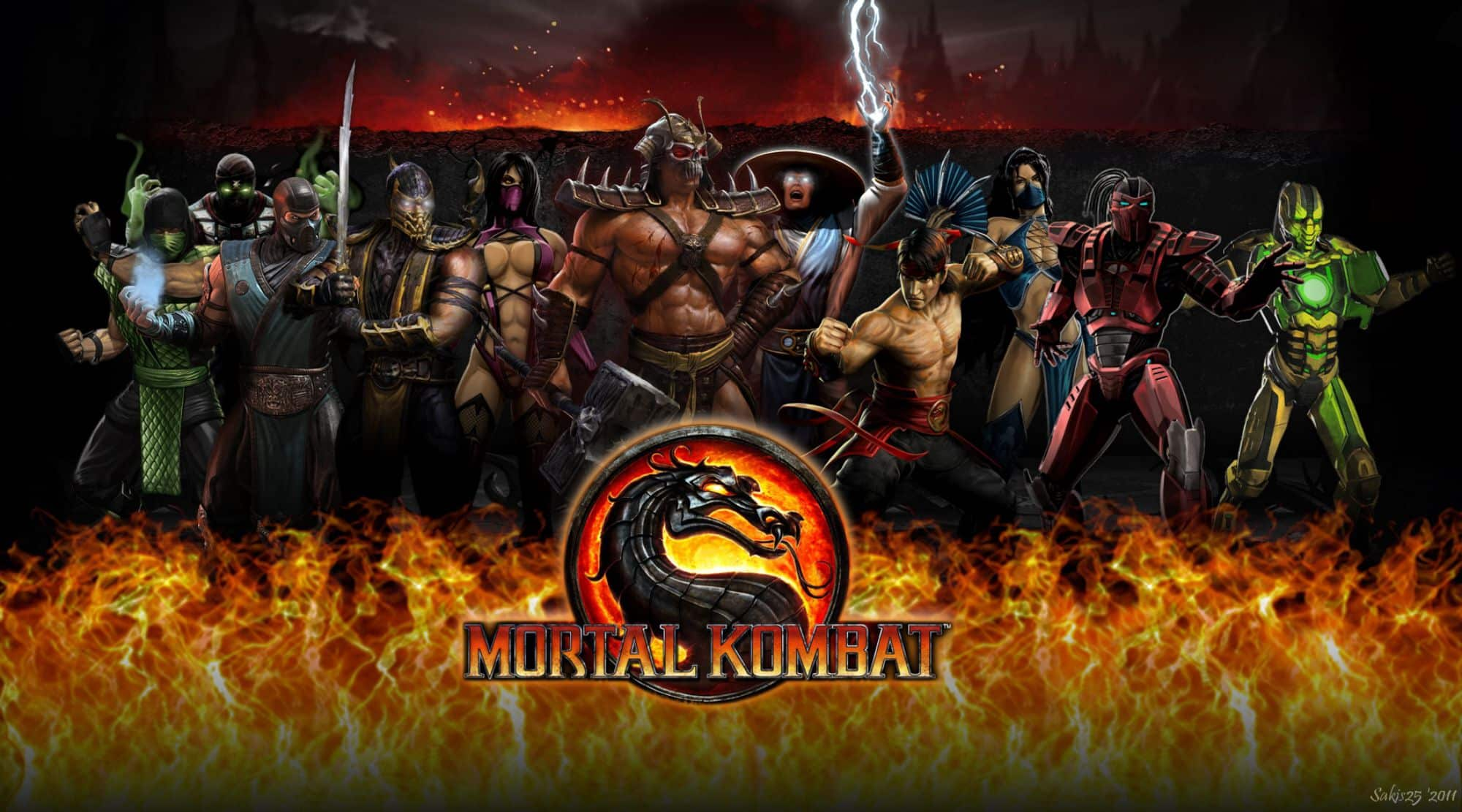 Mortal Kombat 9 Characters Full Roster For Komplete Edition
