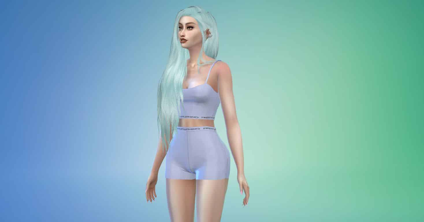 Aquaria by Stealthic, Custom Hairstyle for Sims 4