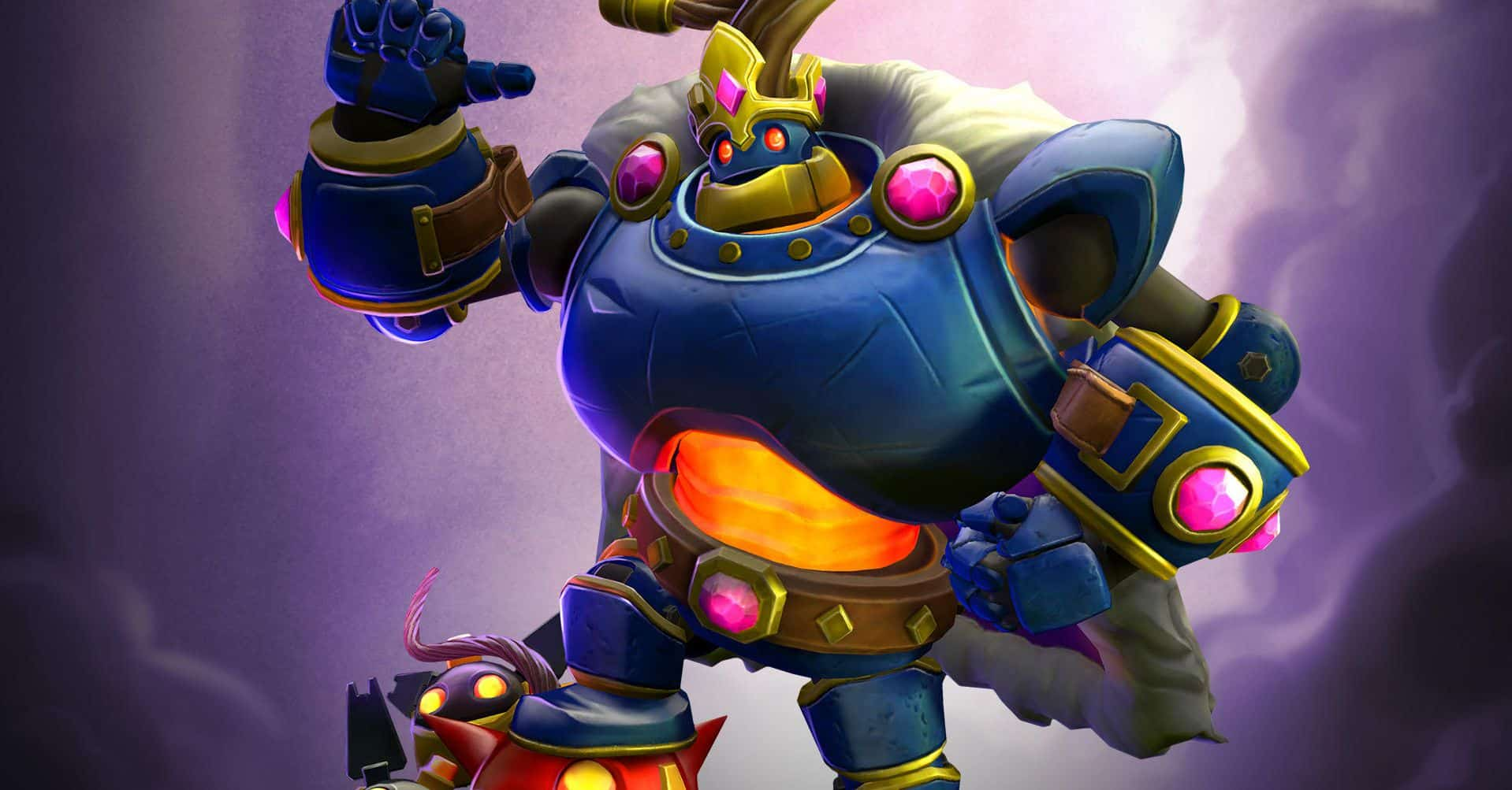 Bomb King - His Majesty, Default Skin, Paladins