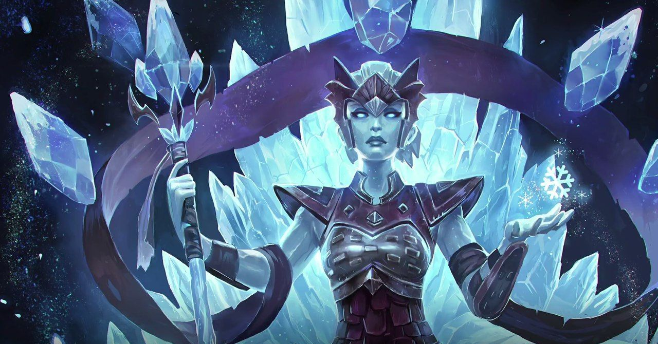 Inara - The Stone Warden, Ice Walker Skin, Paladins