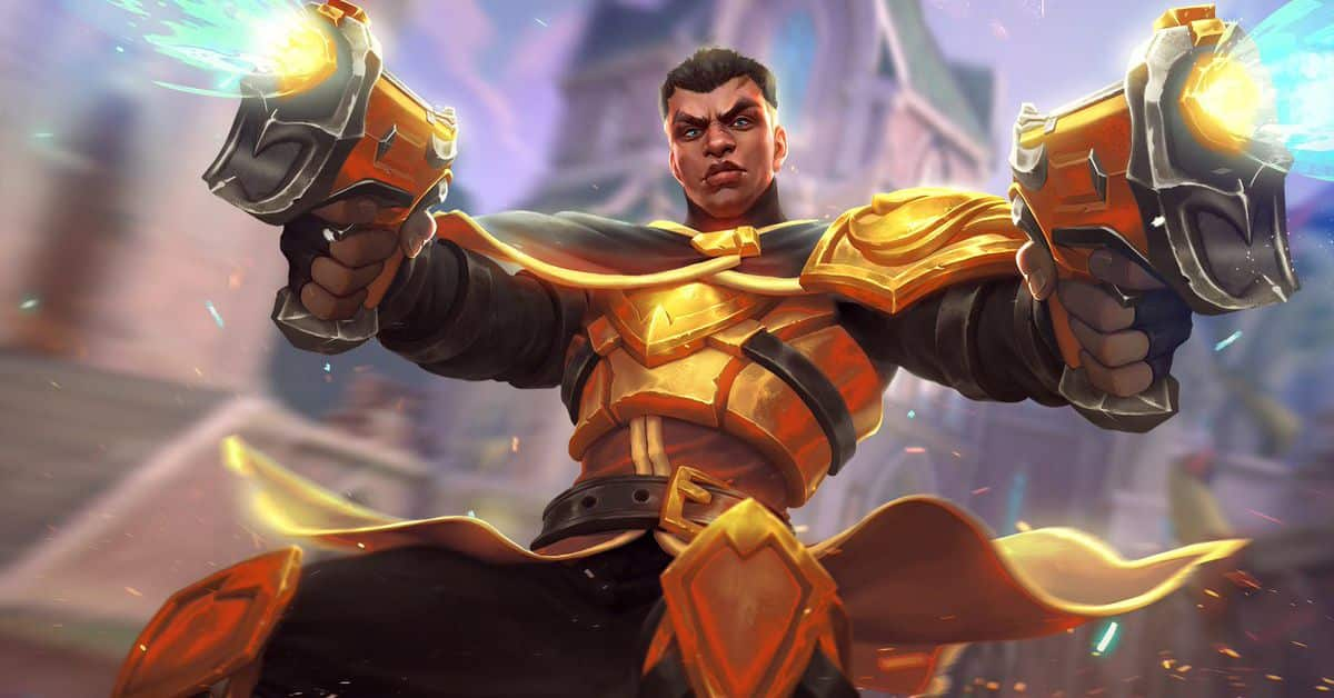 Lex - The Hand Of Justice, Golden Skin, Paladins