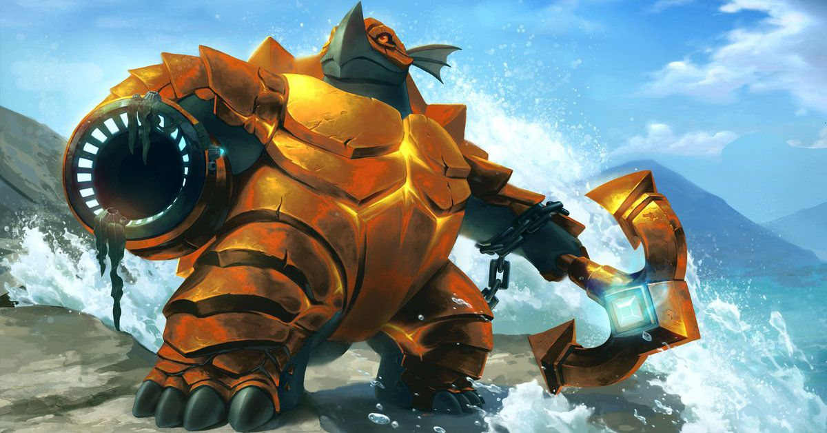 Makoa - The Ancient, Golden Skin, Paladins