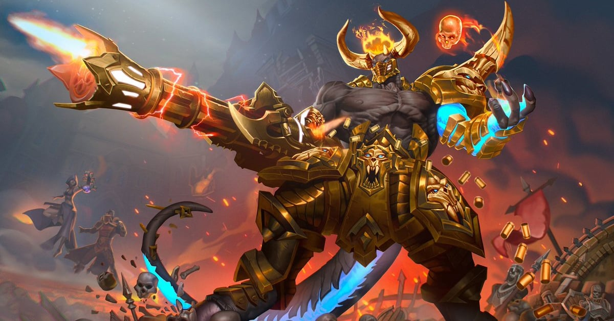 Raum - Rage of The Abyss, Abyssal Lord Skin, Paladins