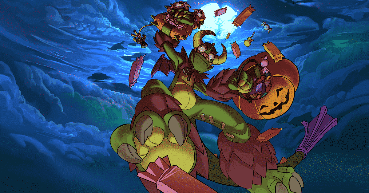 Talus - Of The Ska'Drin, Trick or Treat Skin, Paladins