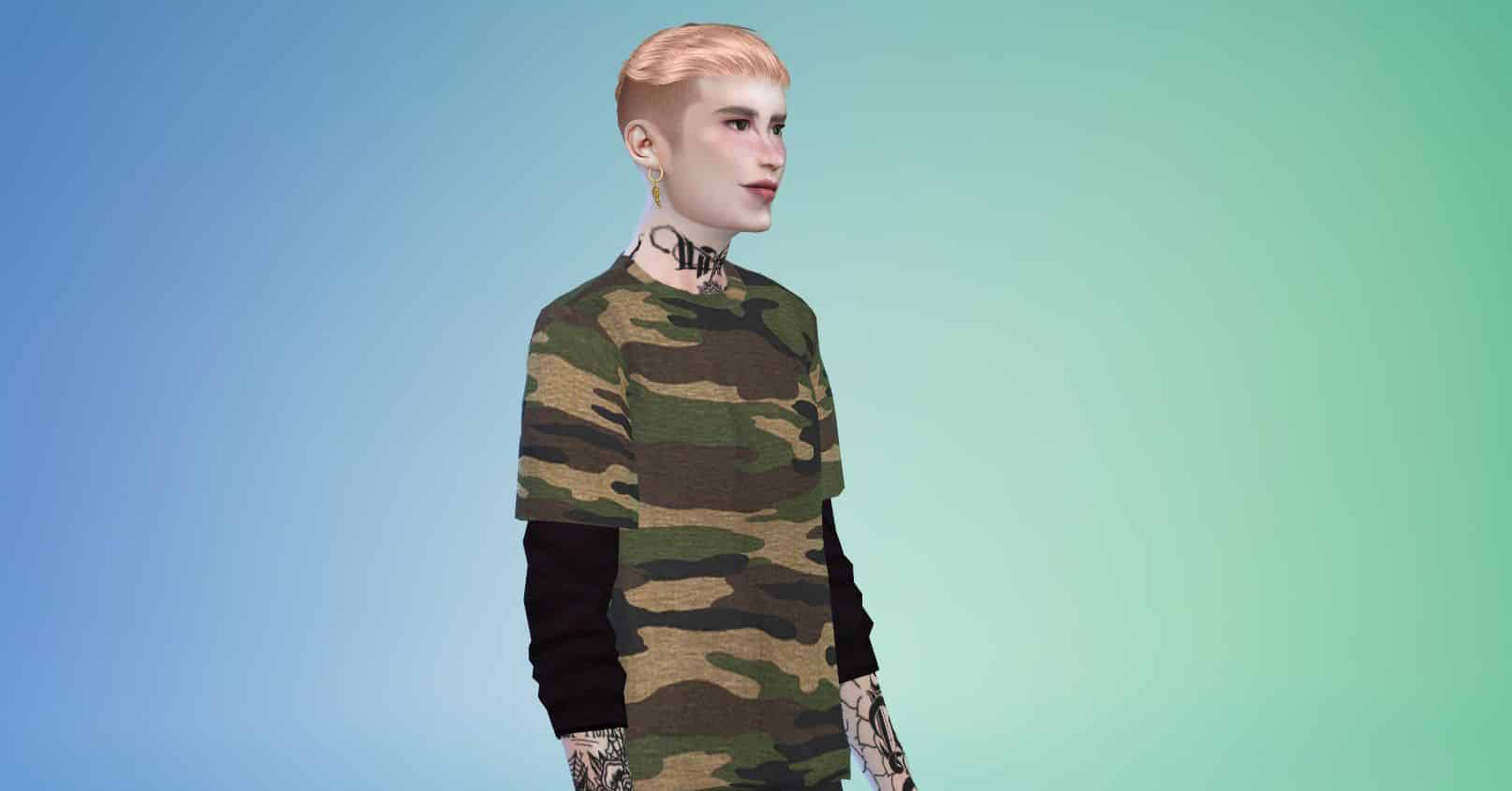 The Sims 4 Cc Hair The 50 Best Male Hairstyles To Download