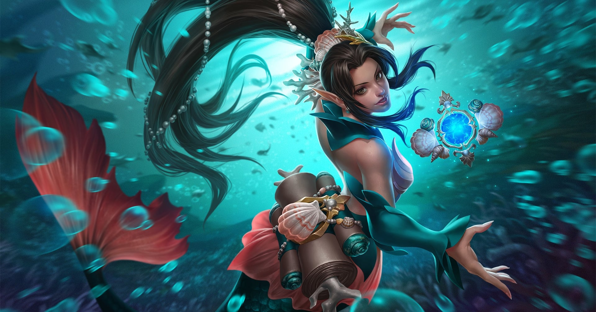 Ying - The Blossom, Mermaid Skin, Paladins