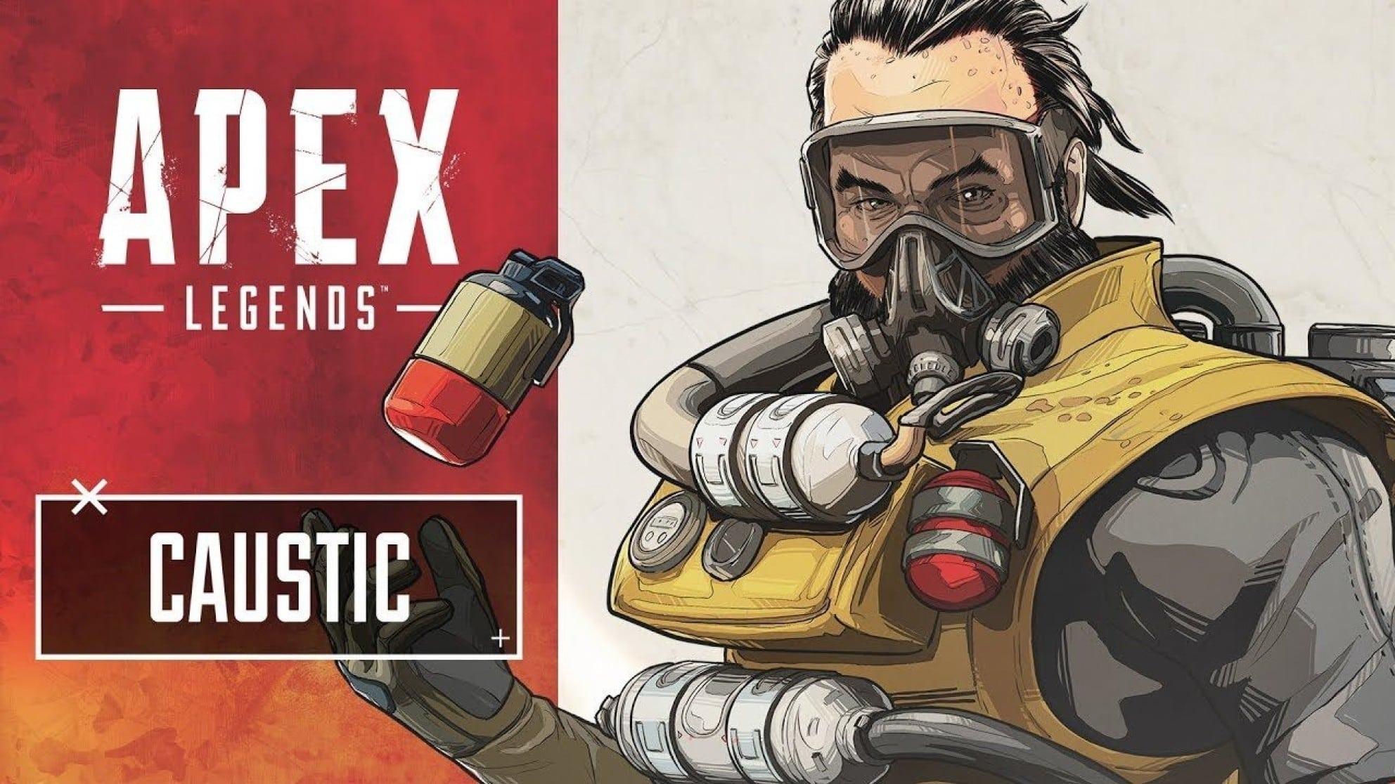 Caustic, Toxic Trapper, Apex Legends
