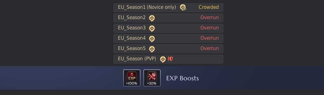 Season Servers