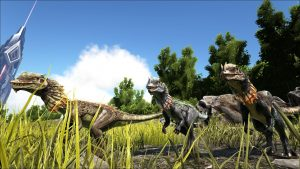 Dilophosaur, Ark: Survival Evolved