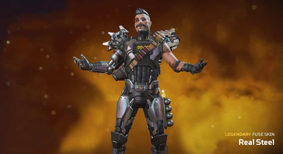 Fuse, Real Steel, Apex Legends