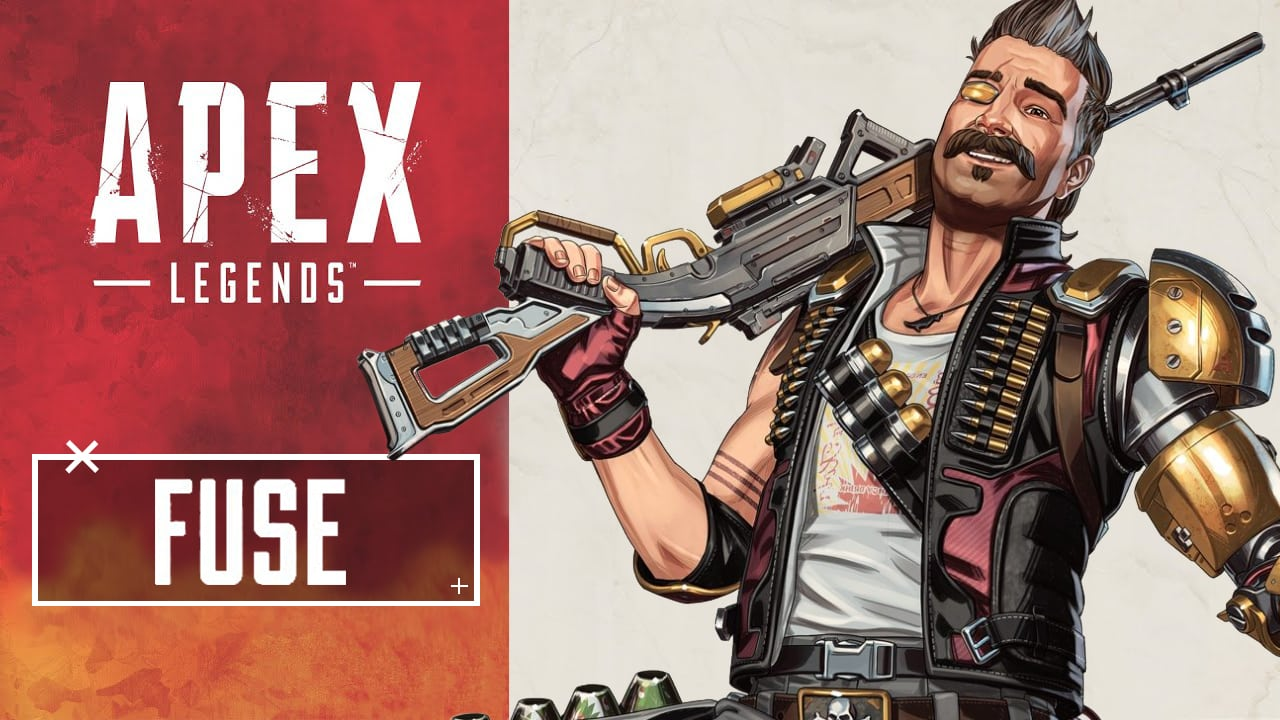 Fuse, Bombastic Explosives Expert, Apex Legends