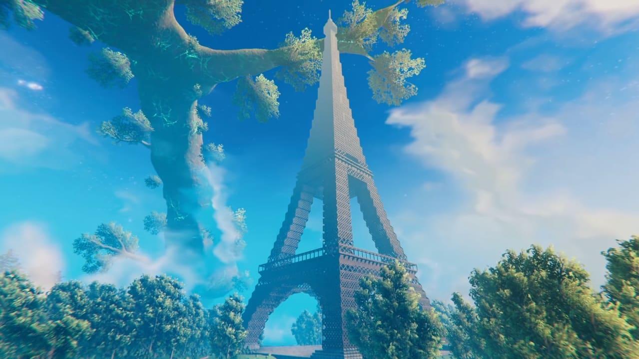 Eiffel Tower, Valheim.