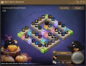 Black Spirit's Adventure Board 1 in Black Desert Online
