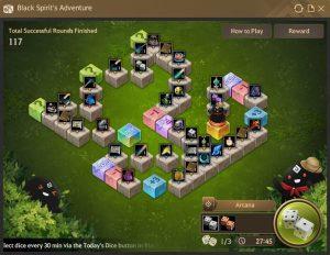 Black Spirit's Adventure Board 3 in Black Desert Online