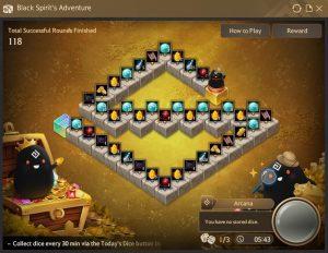 Black Spirit's Adventure Special Board in Black Desert Online
